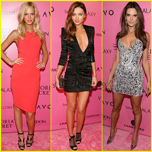Miranda Kerr & Erin Heatherton: Victoria's Secret Fashion Show After Party!