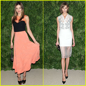 Miranda Kerr & Karlie Kloss - 2012 CFDA/Vogue Fashion Fund Awards