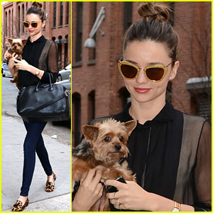 Miranda Kerr: Sunday Morning with Frankie!