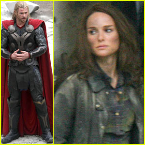 Natalie Portman: 'Thor: The Dark World' Set!
