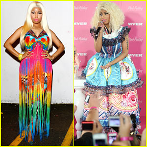 Nicki Minaj: ARIA Awards 2012 Red Carpet!