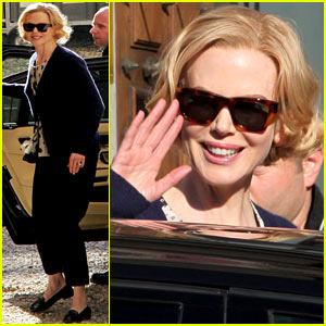 Nicole Kidman: 'Grace of Monaco' Set Arrival!