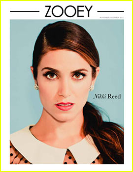 nikki reed covers zooey magazine Nikki Reed Covers Zooey Magazine