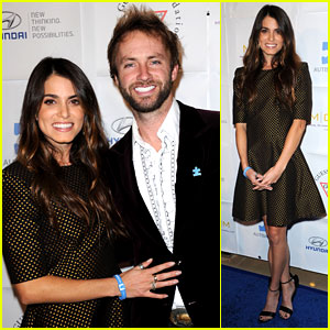 Nikki Reed & Paul McDonald: Autism Speaks Ball!