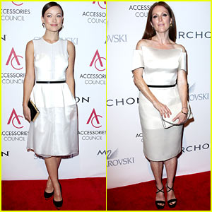 Olivia Wilde & Julianne Moore: ACE Awards in New York City!
