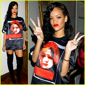 Rihanna: Backstage Paris 777 Tour Pics! (Exclusive)