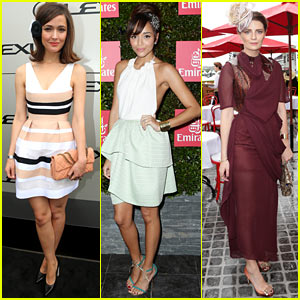 Rose Byrne & Ashley Madekwe: Melbourne Cup Attendees!