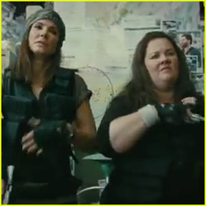 Sandra Bullock & Melissa McCarthy: 'The Heat' Trailer!