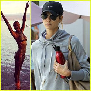 Stacy Keibler: Dead Sea Bikini Babe!