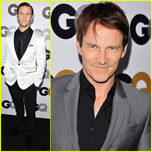 Stephen Moyer & Ryan Kwanten - 2012 GQ Men of the Year Party