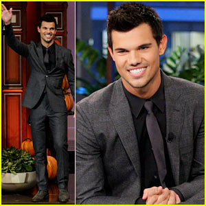 Taylor Lautner: 'Twilight: Breaking Dawn' Promotion on 'The Tonight Show'!