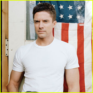Topher Grace: Patriotic 'Corduroy' Magazine Feature!