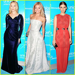 Uma Thurman & Kate Mara: Unicef Snowflake Ball!