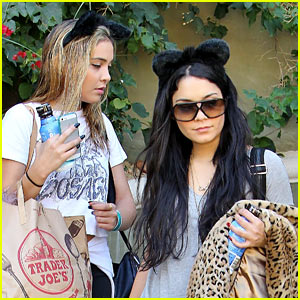 Vanessa Hudgens: Cat Ears for Halloween!