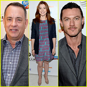 Alyson Hannigan & Tom Hanks: March of Dimes 2012!