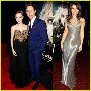 Amanda Seyfried & Eddie Redmayne: 'Les Miserables' NY Premiere!