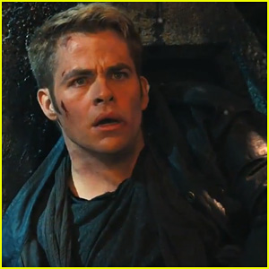 Chris Pine: 'Star Trek Into Darkness' Teaser Trailer - Watch Now!