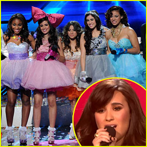 Demi Lovato & Fifth Harmony: 'X Factor' Finale Performance!
