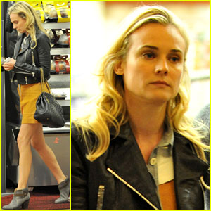 Diane Kruger: Gelson's Grocery Shopper!