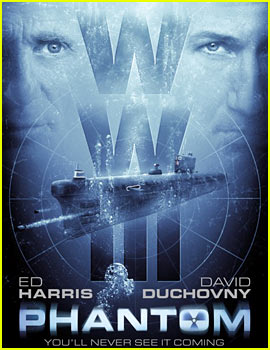 Ed Harris & David Duchovny: 'Phantom' Poster & Trailer!
