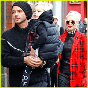 Gwen Stefani & Gavin Rossdale: London Family Outing!
