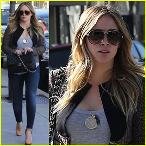 Hilary Duff: Liberated From Hair Extensions!