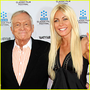 Hugh Hefner & Crystal Harris Married!
