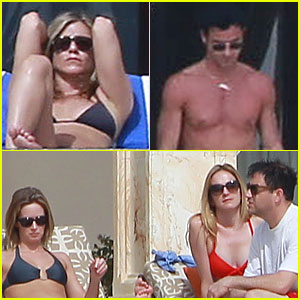 Jennifer Aniston & Justin Theroux: Paddle-boarding Fun with Friends!