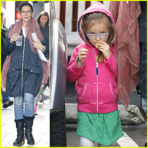 Jennifer Garner & Seraphina: Eyeglasses Wearing Duo!