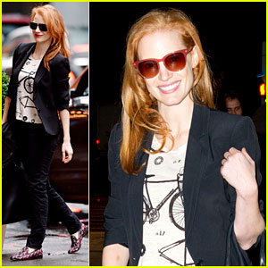 Jessica Chastain: D.C. Critics' Best Actress Award Winner!