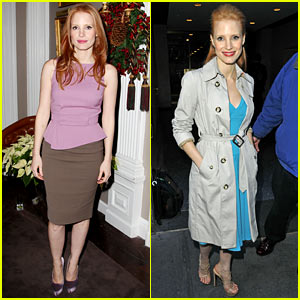 Jessica Chastain: 'Zero Dark Thirty' Celebration Lunch!