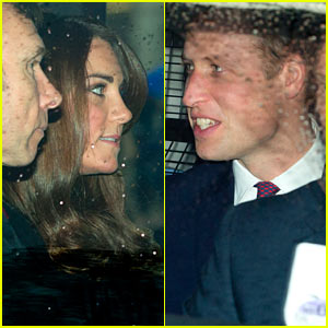 Kate Middleton & Prince William: Royal Family Christmas Lunch!