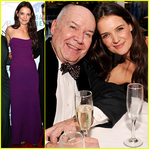 Katie Holmes: Broadway Dreams Foundation Gala!