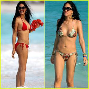 Kimora Lee Simmons: St. Barts Bikini Babe!