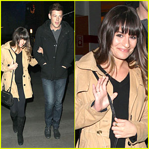 Lea Michele & Cory Monteith: 'Argo' Movie Date!