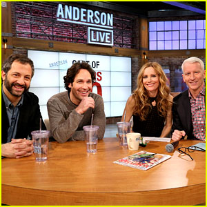 Leslie Mann &#038; Paul Rudd: 'This Is 40' Visits 'Anderson Live'!
