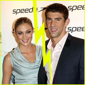 Michael Phelps & Megan Rossee Split