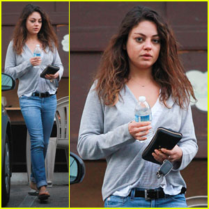 Mila Kunis Treats Herself to a Massage!