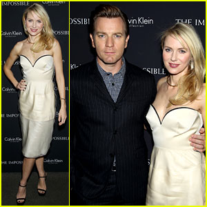 Naomi Watts & Ewan McGregor: 'Impossible' NY Screening!