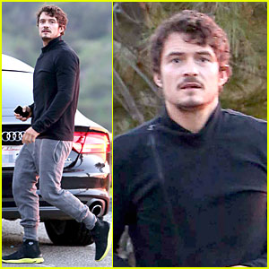 Orlando Bloom: Picture Perfect Sunrise!