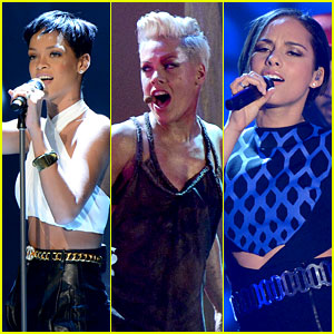 Rihanna, Pink, & Alicia Keys: 'Wetten dass' Performances!