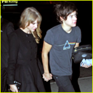 Taylor Swift &amp; Harry Styles: Holding Hands After 1D Concert!