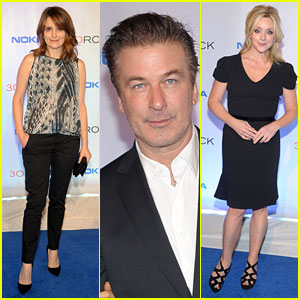 Tina Fey & Alec Baldwin: '30 Rock' Series Finale Wrap Party!