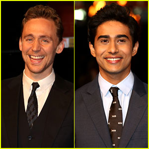 Tom Hiddleston & Suraj Sharma: 'Life of Pi' UK Premiere!