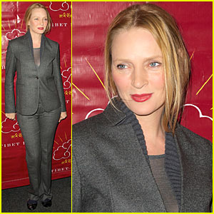 Uma Thurman: Tibet House Benefit Auction!