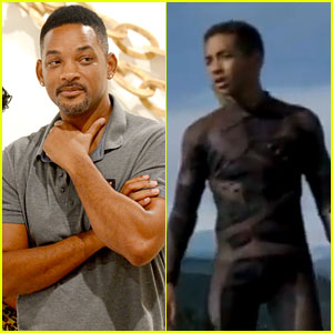 Will Smith & Son Jaden: 'After Earth' Trailer - Watch Now!