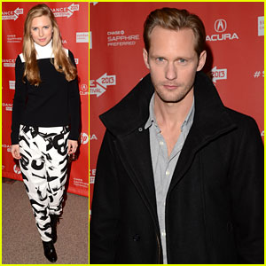 Alexander Skarsgard & Brit Marling: 'The East' Pr