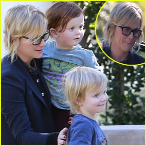 Amy Poehler: Birthday Party with Archie & Abel!