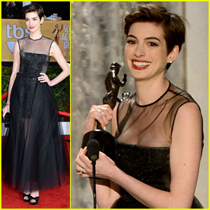 Anne Hathaway: SAG Awards Best Supporting Actress Winner!