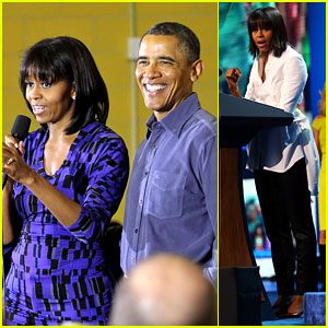 Barack Obama: National Day of Service with Michelle!